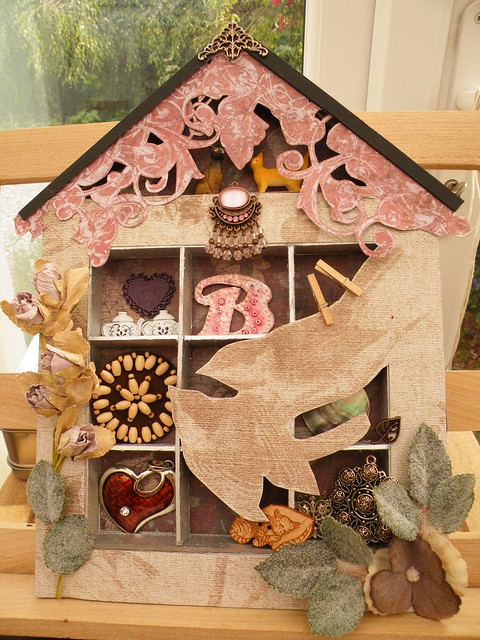 Heart of the Home shadow box