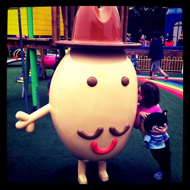 Mr Potato plus rainbow path  #PPworld