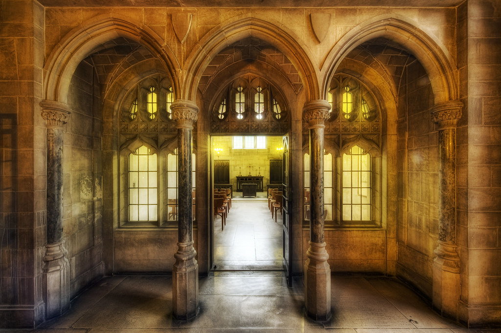 The Chapel Entrance (HDR)