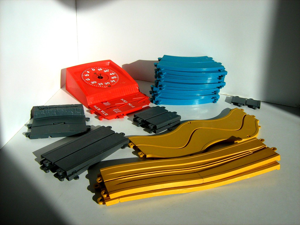 """""""Motorific"""" Toy Race Track By IDEAL Toy Company"""