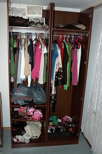 My poor closet