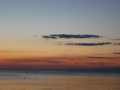 tramonto primaverile
