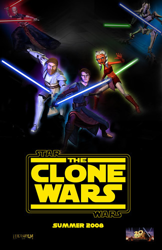 u2fanbwg 拍攝的 Star Wars: The Clone Wars (teaser)。
