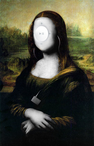 Mona Lisa as Ipod