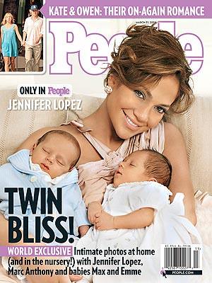Jennifer Lopez verdient grof geld aan tweeling