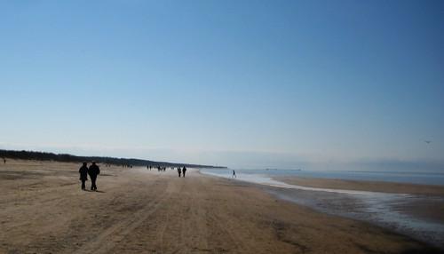 Beach of Vecāķi, Latvia