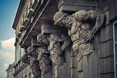 Four Spartans (druhboruh) Tags: colour four stones polska warsaw spartan spartans rzeba mury kamienie czterech spartanie