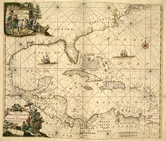 Mapa maritimo del Caribe