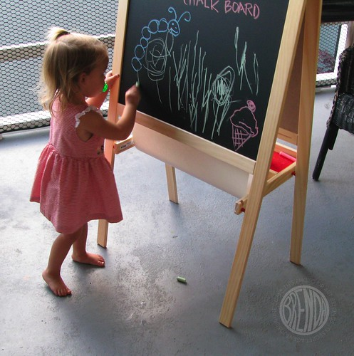 a new easel!