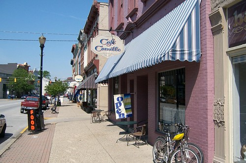 Madison street scene