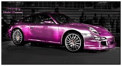 Hot Purple! (khalid almasoud) Tags: auto light hot color cars its wheel club contrast work photography high nikon purple quality great group deep vivid photographers super science spot exhibition international porsche kuwait magical khalid blend        almasoud     kuwaitartphoto tasweery