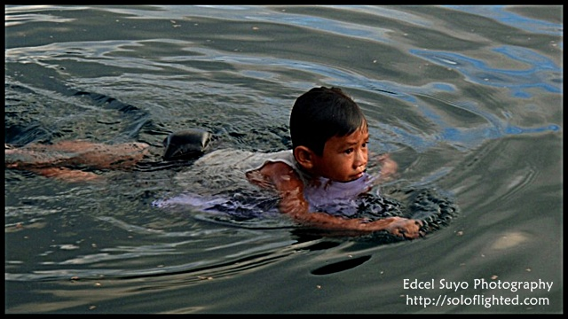swim kid