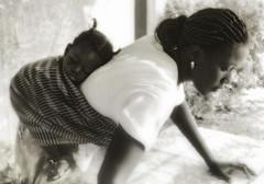sleepingTime (lilion (Beatrix Jourdan)) Tags: africa portrait people woman white black child candid chapeau senegal hl fivestarsgallery mywinners artlibre lilion infinestyle annanak beatricejourdan copyrightedallrightsreserved jmeszolybeatrix
