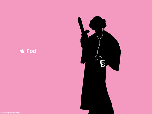 Princess_Leia_iPod_ad_by_hitokirivader