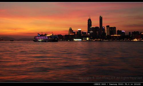 dusk@Victoria Harbour