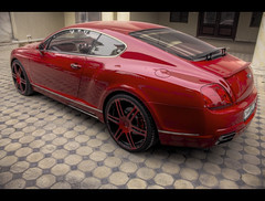 -::-Bentley HDR-::- (-::-Mr.AD-::- *Uae*) Tags: b red car sport ride hdr bentley sporty edit mansory gt63