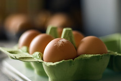 Chuckie Eggs (PaulJMFlickr) Tags: food chicken kitchen egg shell boiled cluck yolk eggbox