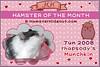 Hamster of the Month - Jun 08 Cert