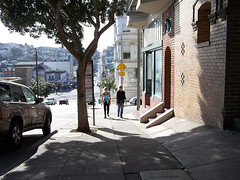 a walkable street in San Francisco (by: genewolf/whiskey kitten, creative commons license)