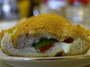 Halloumi Cheese Sandwich ({ Bint ElnuzHa~) Tags: shop cheese tomato cucumber sandwich lettuce diet halloumi شوب طماط جبن خس دايت طماطم سندويش حلوم خيار صمون