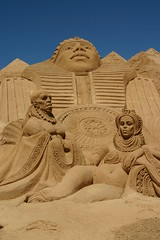 Sand City Fiesa 2008 (amisbk196) Tags: city sculpture holiday art portugal sand europe algarve miranda amis 2008 carmen pera sandcity fiesa