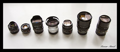The Magnificent Seven (*monz*) Tags: leica zeiss 35mm lens 50mm voigtlander 28mm rangefinder gas explore noctilux 40mm 90mm summilux 15mm heliar mandler carlzeiss 75mm biogon summicronc superwideheliar elmarit ultron monz mmount elmaritm lenscraft ultronsuperwideheliar gearacquistionsyndrome bertele