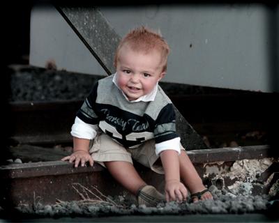 big smile on tracks