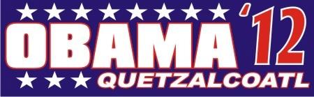 obama / quetzalcoatl - 2012