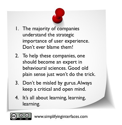 Simplifyinginterfaces-Keypoints:Is it really companies who failed in Customer Experience implementation?