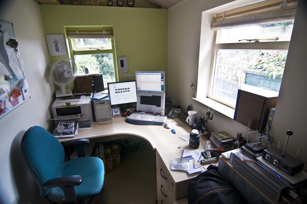 This is my desk