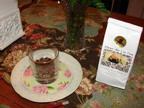 Susan's Christmas Tea