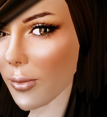 vanity (El Greene) Tags: beauty model avatar sl secondlife slfashionartphotography