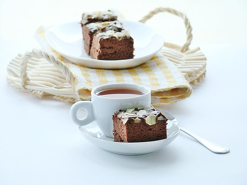 Chocolate Cotton Cake