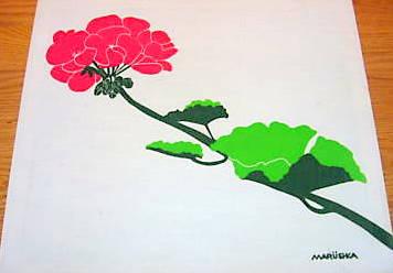 Marushka - geranium (red)
