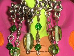 Ref.274 Brincos verdes