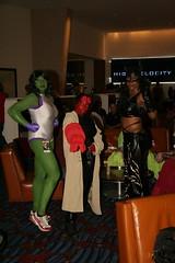 Femmes (DalaiMickey) Tags: costume cosplay hellboy catwoman dragoncon shehulk dragoncon2008