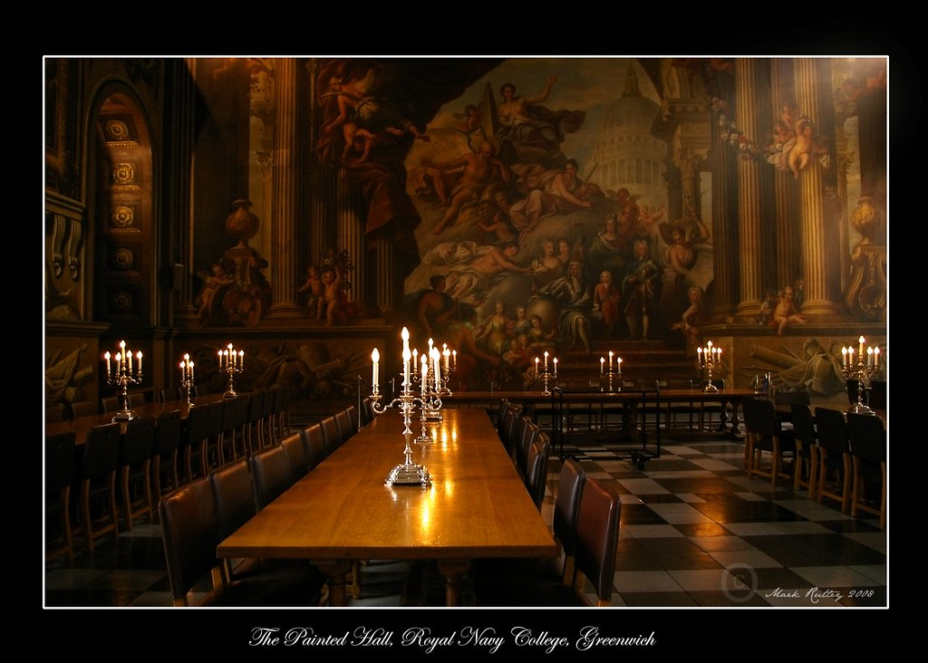 PAINTED HALL AND TABLES