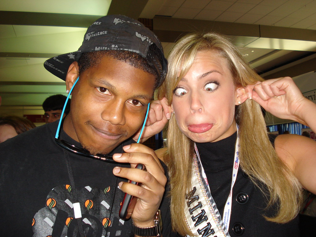 Miss Minnesota 2008 with Nate Hadden