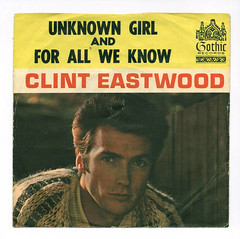 Clint Eastwood (Don3rdSE) Tags: records celebrity rock star photo tv 60s pix vinyl pic 45 retro teen record oldies sleeve clinteastwood 45rpm picturesleeves picturesleeve teener don3rdse nlvdon