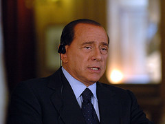 Silvio Berlusconi Announces Solidarity Change