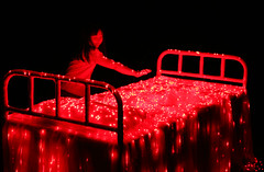 Li Hui (_Art) Tags: red bed korea seoul biennale 2008 mediaart lihui
