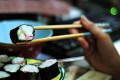 another sushi night (joy_sale) Tags: food sushi bokeh maki september rolls eats 2008 sept2008