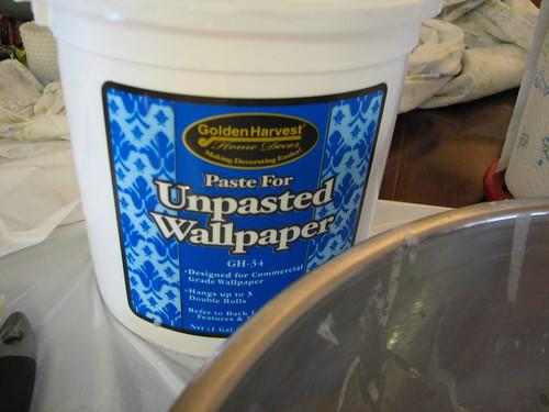 wallpaper paste