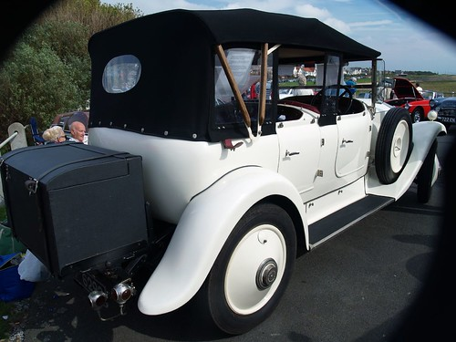 Old Vintage Rolls Royce Convertible
