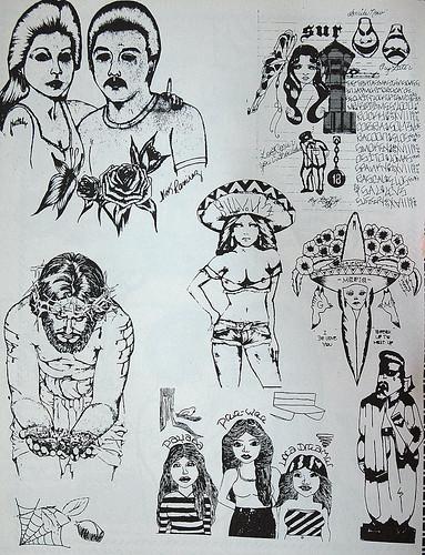 Nude tattoo in the breast