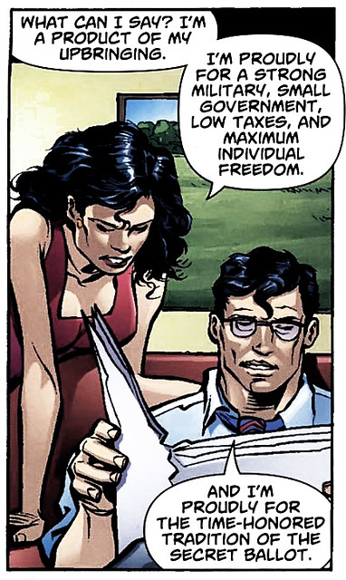 Lois Lane Voted for Luthor