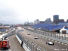 Formula BMW en el Valencia Street Circuit