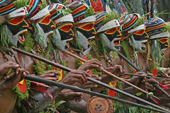 Sing sing in Goroka (Bertrand Linet) Tags: festival facepainting feathers feather makeup tribal papou tribes png tribe papuanewguinea papua ethnic gu nueva maquillage plumes headdress singsing plume papu tribu oceania goroka etnico tribus oceanie papuaneuguinea papuanuovaguinea パプアニューギニア gorokashow papuan papouasie papuans 巴布亞紐幾內亞巴布亚纽几内亚 papuásianovaguiné papúa hulis παπούανέαγουινέα папуановаягвинея papuanewguineapicture papuanewguineapictures papuanewguineanpeople remotetribe makeupgoroka bertrandlinet