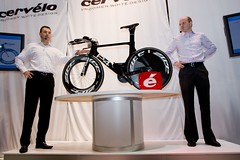 Cervelo P4 - Do style points trump everything else? Photo: kwc