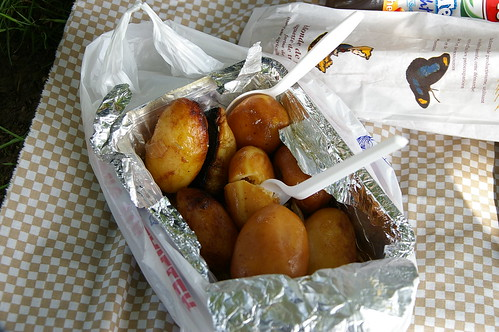 蘇鎮公園 05 - 雞汁烤馬鈴薯.. 其實不太好吃